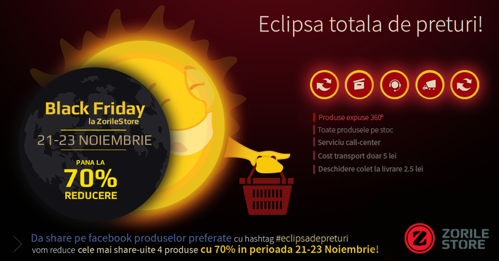 black friday eclipsa de preturi